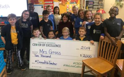 Third Grade Teacher Receives Incredible Teacher Award
